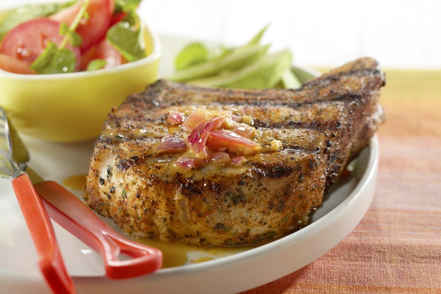 Bone-In Mojo Pork Chops